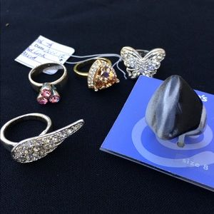 SALE 🎉 Rings Jewelry Bundle Costume 5 Pieces